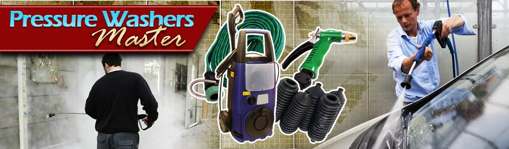 Pressure Washer Reviews header image