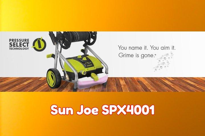Sun Joe SPX4001 Reviews