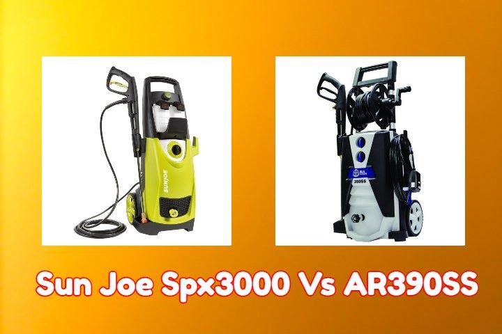Sun Joe Spx3000 Vs AR390SS