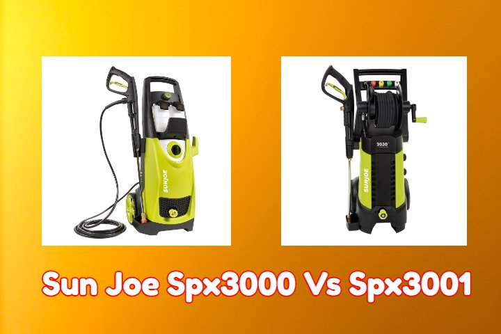 Sun Joe Spx3000 Vs Spx3001 Review Pressure Washers Master