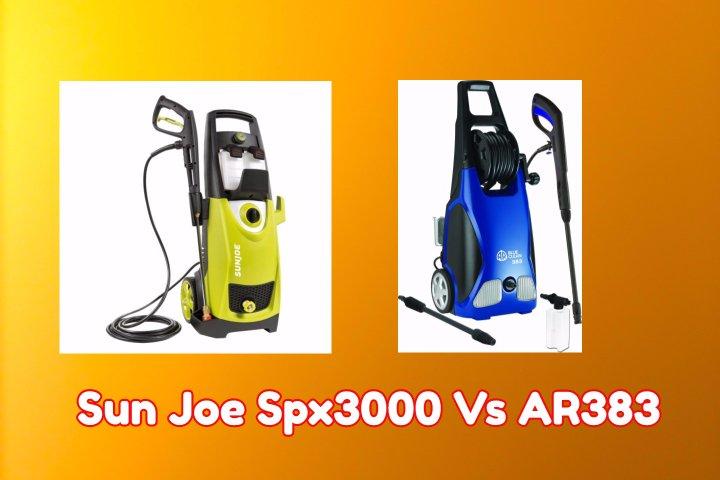 Sun Joe Spx3000 vs Ar383